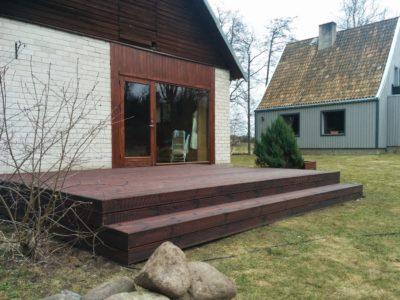 Sauna terrass Kuusalu vallas