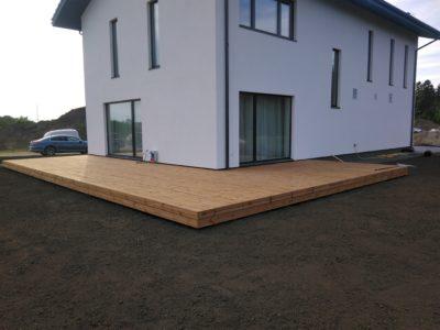 Terrass uuele majale Viimsi Ilvese