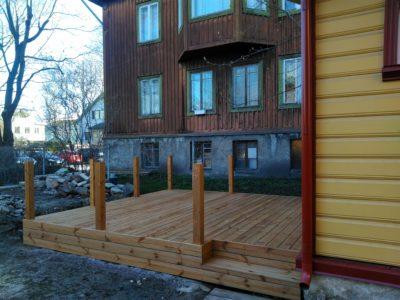 Väike terrass Tallinn Tööstuse
