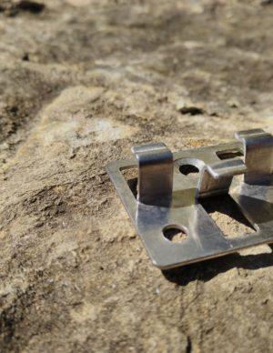 Terrassilaua klamber plastlauale