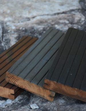 Terrassilaud kuumõlitatud ja termotöödeldud hall pruun tumehall
