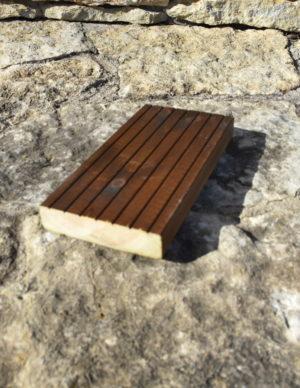 Terrassilaud kuumõlitatud pruun