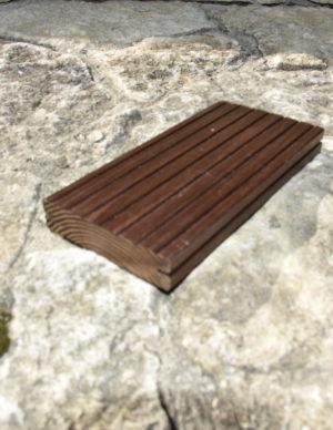Terrassilaud kuumõlitatud termosaar pruun