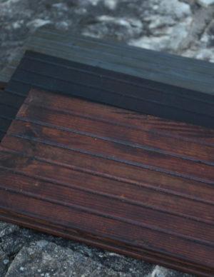 Terrassilaud termotöödeldud ja kuumõlitatud hall pruun tumehall