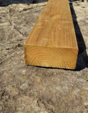Terrassi materjal 45×95 hööveldatud immutatud pruun