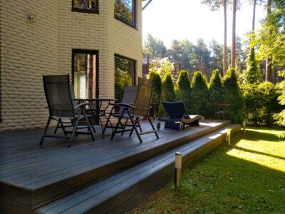 Terrass.ee terrassi ehitus terrassilaud 117×26 kuumõlitatud termomänd Hall Laagri 21.2