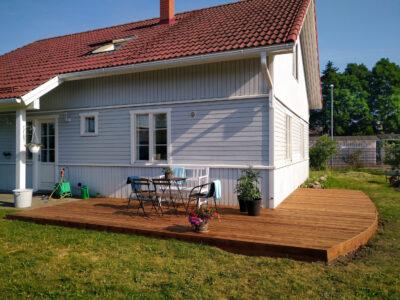 Terrass.ee terrassi ehitus terrassilaud 120×28 immutatud pruun Peetri 2021.2